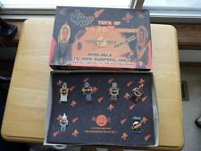 NIB HRH Hard Rock Hotel 6 Robot Old Millenium Pin Set #1 Space Toys 20th Century