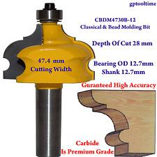 Router Bit Classical & Bead Molding Bit 12.7 mm Shank