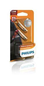 Philips 12844B2 - Festoon Globe 35x10mm 12V 5W fits Porsche 911 3.4 Carrera (...