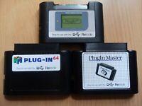 Retrode 2 (II) Game Cart Plugins (Nintendo GB/GBC/GBA, N64, Sega Master System)