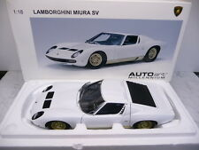 AutoArt 74544 1:18 Lamborghini Miura SV weiß/gold Super Selten!!! TOP in OVP