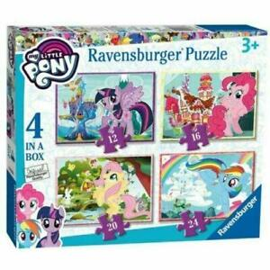 Ravensburger 6896 My Little Pony  4 In A Box Puzzle