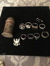 Sterling Silver Scrap/wearable Jewelry Lot 63 Gr