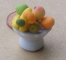 1:12 SCALA 7 pezzi di frutta in ceramica piatto Casa delle Bambole Accessorio in miniatura w9f