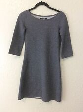 Reformation Silver Metallic Stretch mini Dress - EUC -  XXS