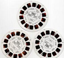 Vintage Viewmaster Reels #D 204-1, 2 & 3 - Roland Rat - VMI - 1984