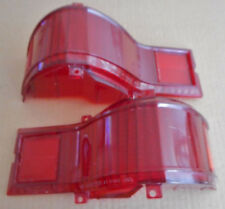 1974 1975 1976 BUICK ESTATE WAGON PAIR OF USED TAIL LIGHT LENSES. GUIDE 4BS.