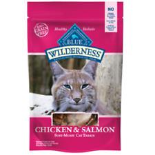 Blue Buffalo Wilderness CHICKEN/SALMON Cat Treat 2 oz Healthy Holistic Grain Fre