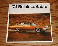 Original 1974 Buick LeSabre Sales Brochure 74