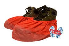 ShuBee® SuperBee® Shoe Covers, Hot Rod Red, Dispenser