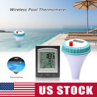 Wireless Remote Floating Thermometer Swimming Pool Tub Pond Spa Waterproof US
