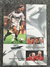 Champions League Official Magazine Viertel- & Halbfinals 2000/01 FC Bayern
