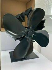 Stoves Fan - 4 Blade Heat Powered Log Burner Stove Fan Maple Leaf Design 624