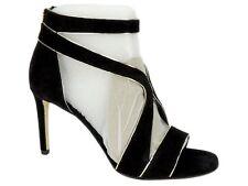 Michael Kors Women's Harlen Sandal Strappy Sandals Black/Pale Gold Size 8 M
