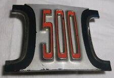 1969 DODGE CORONET 500 CENTER GRILLE OEM TRIM/EMBLEM