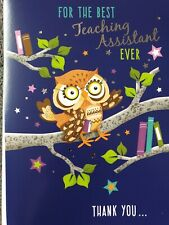 FOR THE BEST TEACHING ASSISTANT EVER THANK YOU - TEACHING ASSISTANT CARD