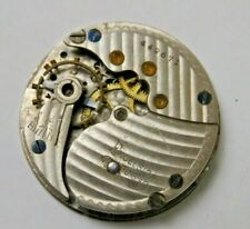 Vtg Excelsior Usa Pocket Watch Mixed Parts For Repair As Is