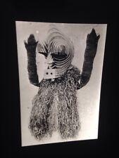 "Songe ""Kifwebe Mask & Costume"" Zaire African Tribal Art 35mm Slide"