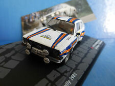 Ford Escort Rs1800 #2 1000 Lakes Rallye 1981 Vatanen Richards 1 43 IXO Altaya