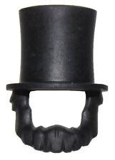 LEGO NEW BLACK MINIFIGURE Headgear Hat Top Hat Large for Beard Abraham Lincoln