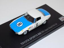 1/43 Kyosho Race Toyota Sports 800 Japan Grand Prix 3rd 1966   03092F