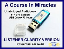A Course In Miracles Audiobook Audio on USB: ACIM Listener Clarity Version +MP3