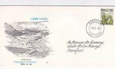 South Africa 1980 Cape Town-Frankfurt SAL-SAA First Flight Cover VGC
