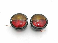 New Jeep Willys Massey Ferguson Tractor Rear Tail Brake Light Pair John Deere