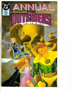 9 Outsiders DC Comics Annuals # 1 & 2 (Diff Ser.) + # 20 23 24 25 26 27 28 J214