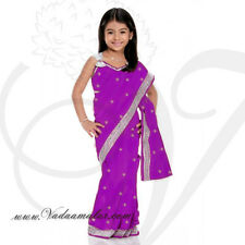 161d8ddbee Saree ReadyMade Costume Girls Children Indian Design Model Fancy Dress  KSA313