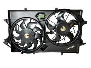 06-07 For Ford Focus Engine Cooling Motor Radiator & Condenser Fan 6S4Z-8C607AA