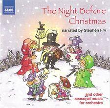 The Night before Christmas (Stephen Fry) (Naxos) [CD]