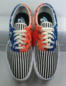 Vans x Comfycush Era Pinned BLUE/BLACK/ORANGE Skate/bmx Shoes Unisex Sz12