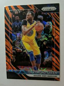 Draymond Green 2018-19 panini prizm tiger stripe ssp basketball