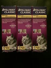 LOT OF 3 Ceva Feliway Classic SPRAY for Cats Feline 60 ml  *NEW * EXP 01/22