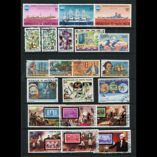 UPPER VOLTA 1975-77 Collection. 21 Values. Used. (WD886)