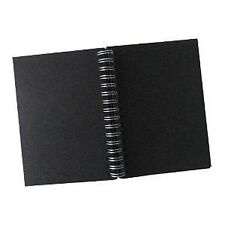 Winsor & Newton Hardback Spiral Sketchbook containing Black Paper - A3