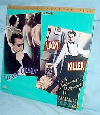 LD laserdisc Pre-Code Forbidden Hollywood BLONDE CRAZY/LADY KILLER James Cagney