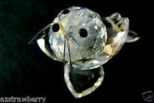 Austrian 32% Full Lead Crystal Forest Collector's Cute Baby Seal Figurine