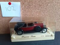 SOLIDO 1/43 SCALE - 4145 - HISPANO SUIZA - MAROON / BLACK
