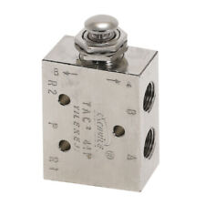 Air Pneumatic 2 Position 5 Way Toggle Switch Valve Tac2 41p