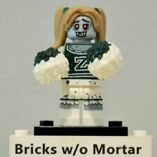 New Genuine LEGO Zombie Cheerleader Minifig with pom poms Series 14 71010