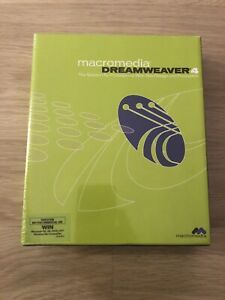 Macromedia Dreamweaver 4 - Boxed And Sealed