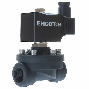 """3/4"""" 110V/120V AC Solenoid Valve Plastic Potable Drinking Water Air Electric N21"""