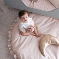 Couverture rampement pour bébé Tapis jeu rond mignon sol jeu Activité plancher