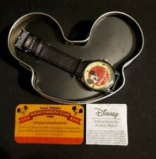 New Open Box Disney Mickey Mouse Club 50th Anniversary Watch