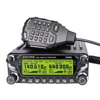 Zastone D9000 Dual Band Mobile Ham GMRS MURS Business  Radio VHF/UHF USA Seller