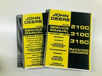 SERVICE MANUAL FOR JOHN DEERE 210C 310C 315C LOADER BACKHOE TRACTOR TM1420