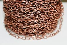 10ft 3.8x6.9 Red Copper Cable Chain 1-3 day Shipping