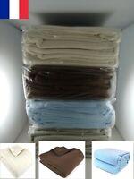 Couverture polaire 220 x 240 cm 100% Polyester Chaude et épaisse